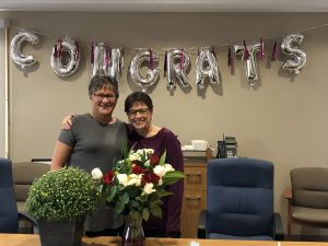 Darlene O'Connell Retires after 20 years of Service