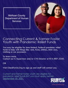 Read more about the article Connecting Current & Former Foster Youth with Pandemic Relief Funds